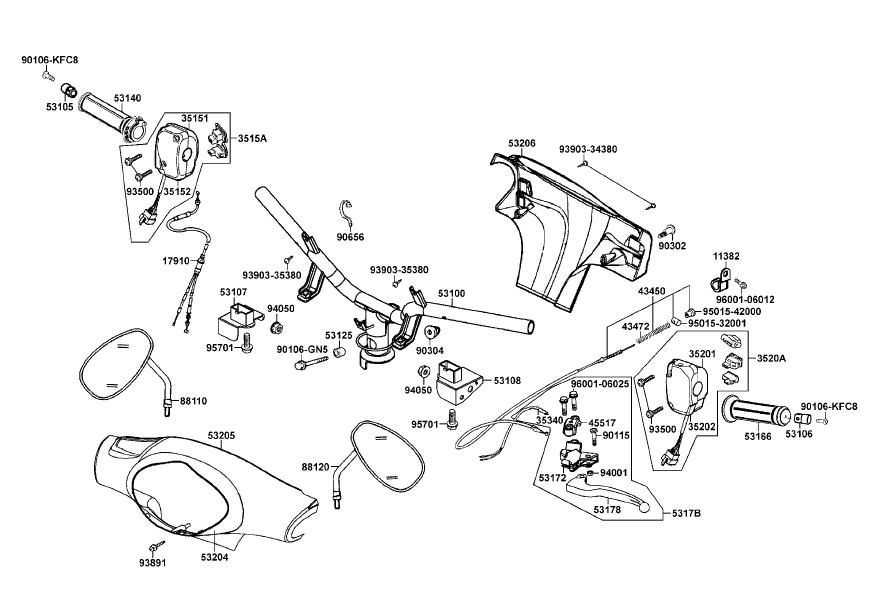 1985 honda elite 80 wiring diagram