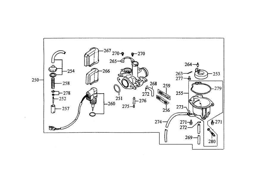 200902150359490.ZX 50_Carburetor kymco scooter parts, atvs scooter parts, performance scooter parts kymco zx 50 wiring diagram at creativeand.co