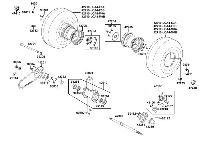 kymco agility 50 wiring diagram kymco scooter parts, atvs scooter parts, performance ...